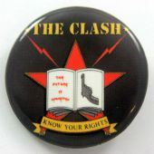 The Clash - 'Knows Your Rights' 32mm Badge